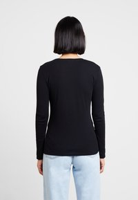 Benetton - ROUND NECK - Topper langermet - black - 2