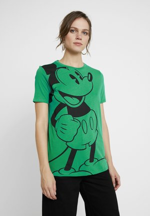 MICKEY - T-shirt imprimé - green