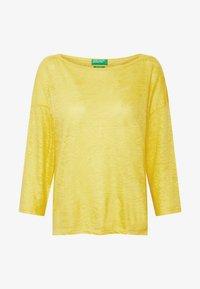 Benetton - Bluzka z długim rękawem - yellow - 4