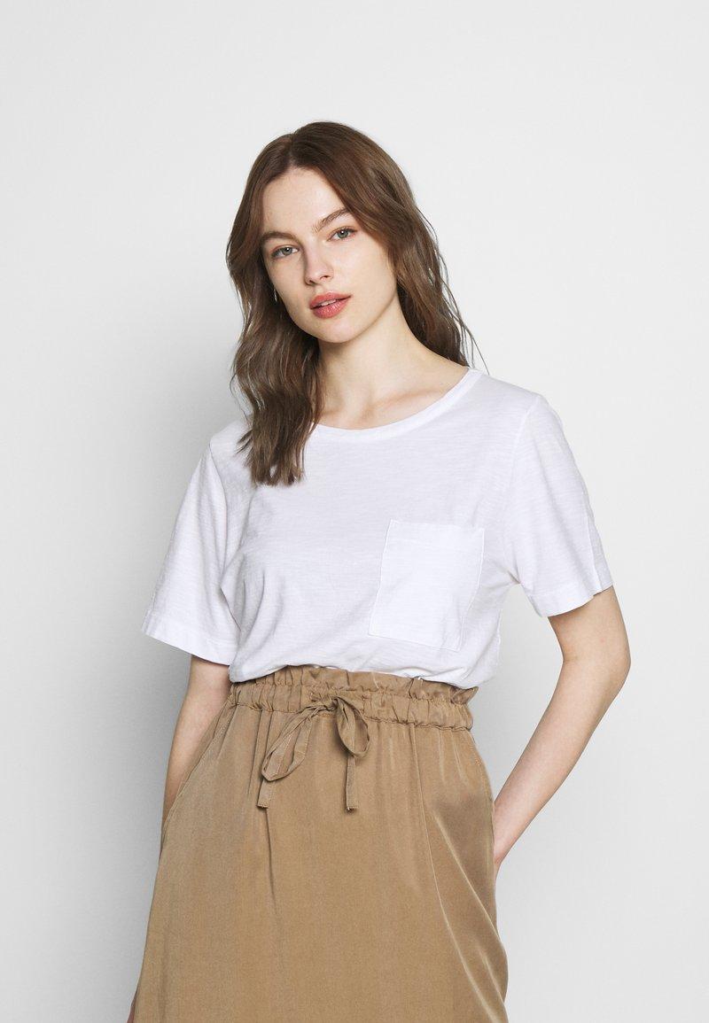 Benetton - T-shirt basic - white