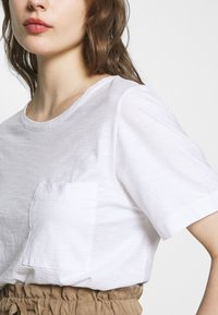 Benetton - T-shirt basic - white - 5