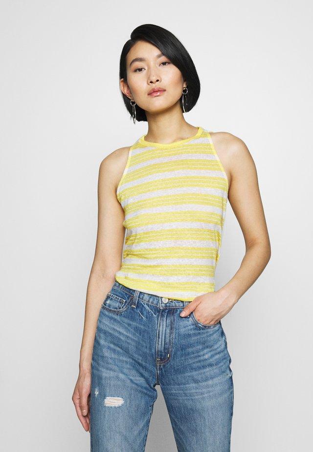 TANK - Linne - yellow