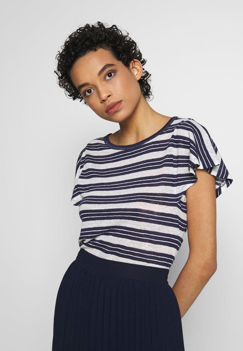 Benetton - T-shirt print - navy