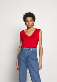 Benetton - Top - red - 0