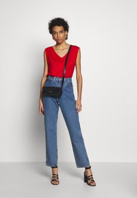 Benetton - Top - red - 1