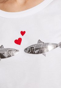 Benetton - T-shirt print - white
