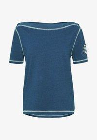Benetton - T-shirt z nadrukiem - blue - 3