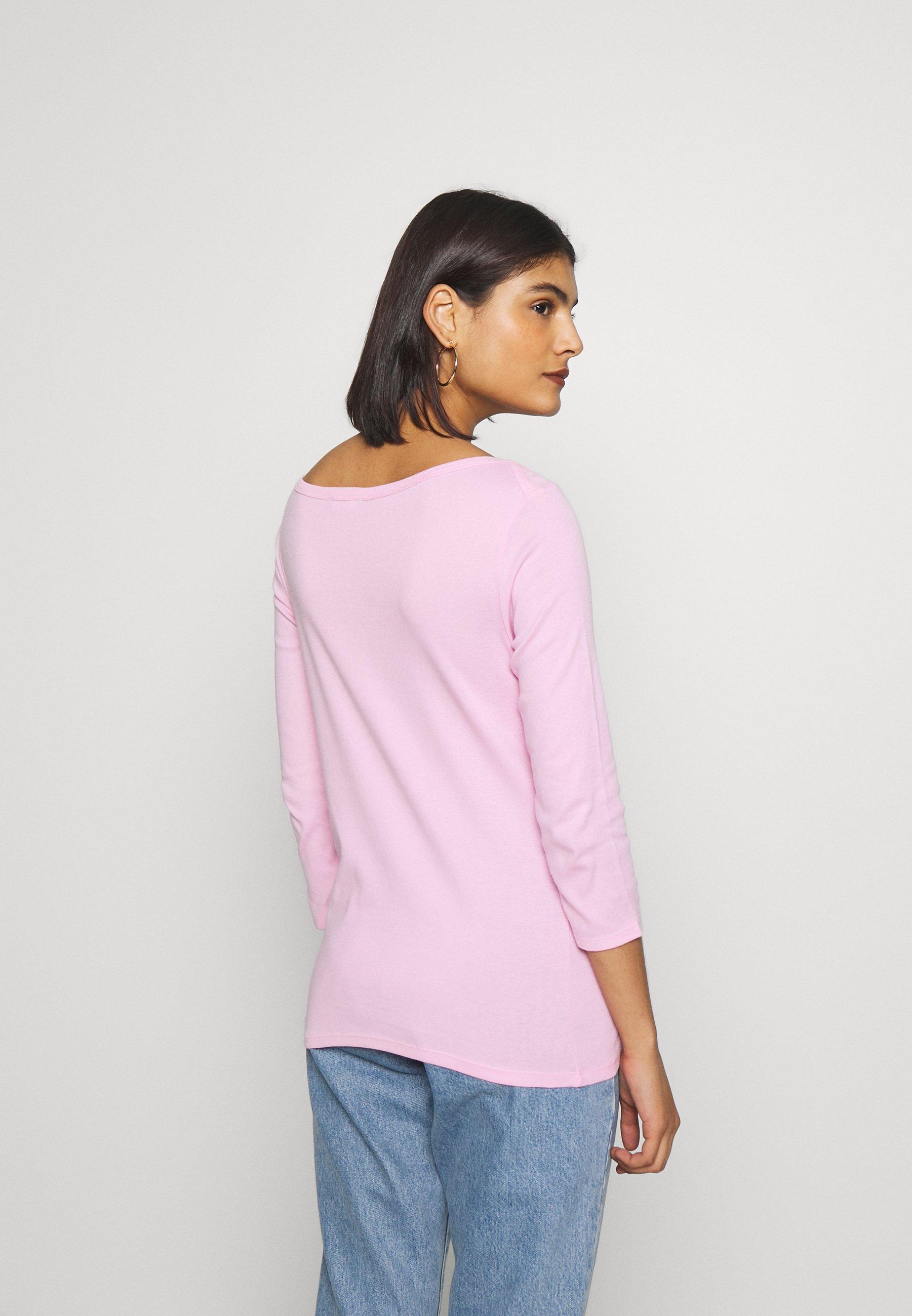Benetton Bluzka z długim rękawem - lilac