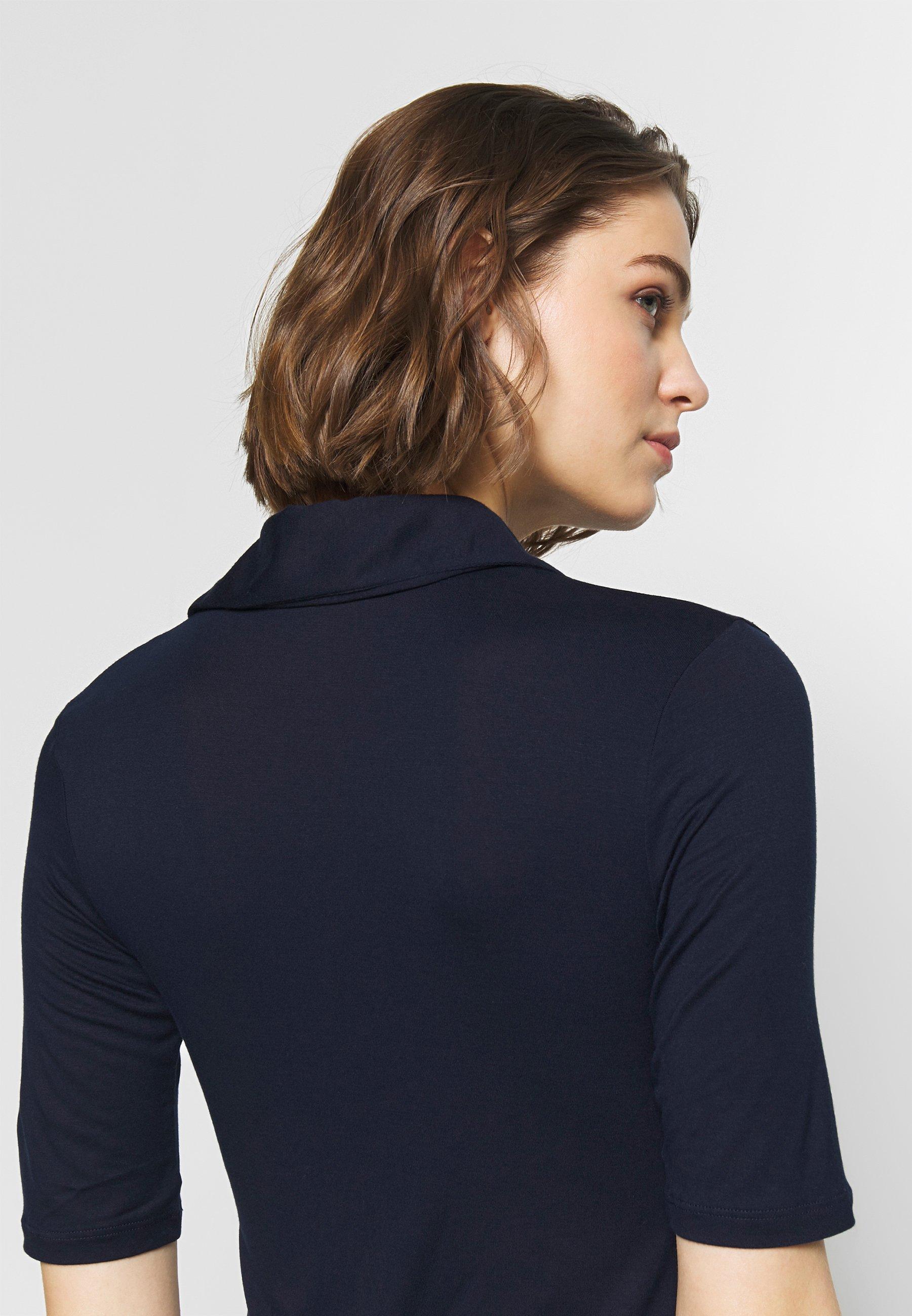 Benetton POLO - T-shirts med print - navy