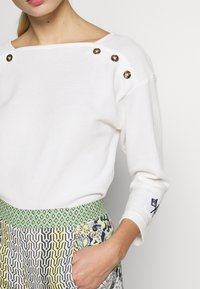 Benetton - Sweter - white - 5