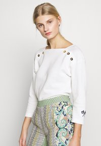 Benetton - Sweter - white - 0