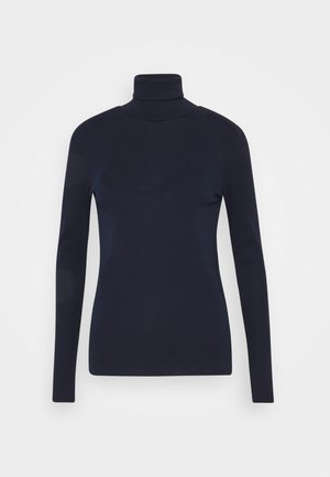TURTLE NECK - T-shirt à manches longues - navy