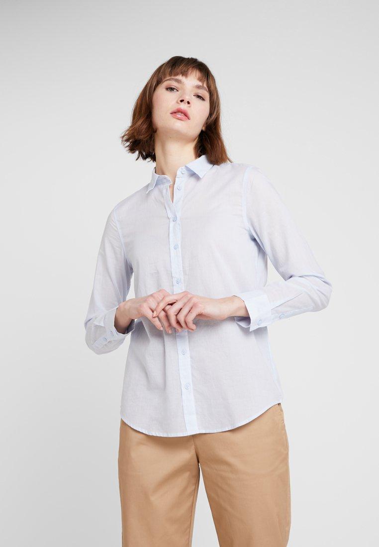 Benetton - BUSINESS BLOUSE - Button-down blouse - light blue