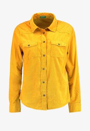 SKINNY - Camicia - mustard yellow