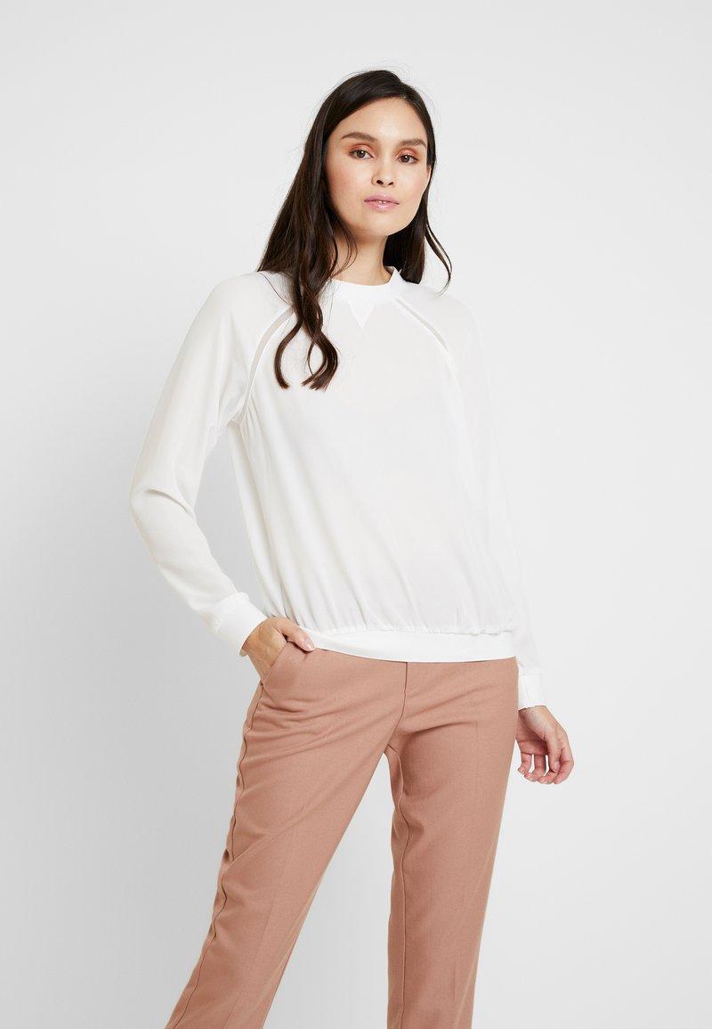 Benetton - BLOUSE - Bluse - white