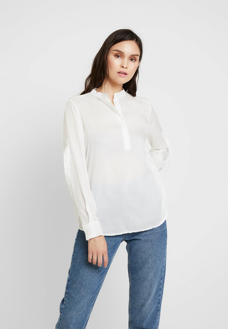 Benetton - BLOUSE - Blouse - off white
