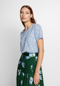 Benetton - BLOUSE - Pusero - blue - 0