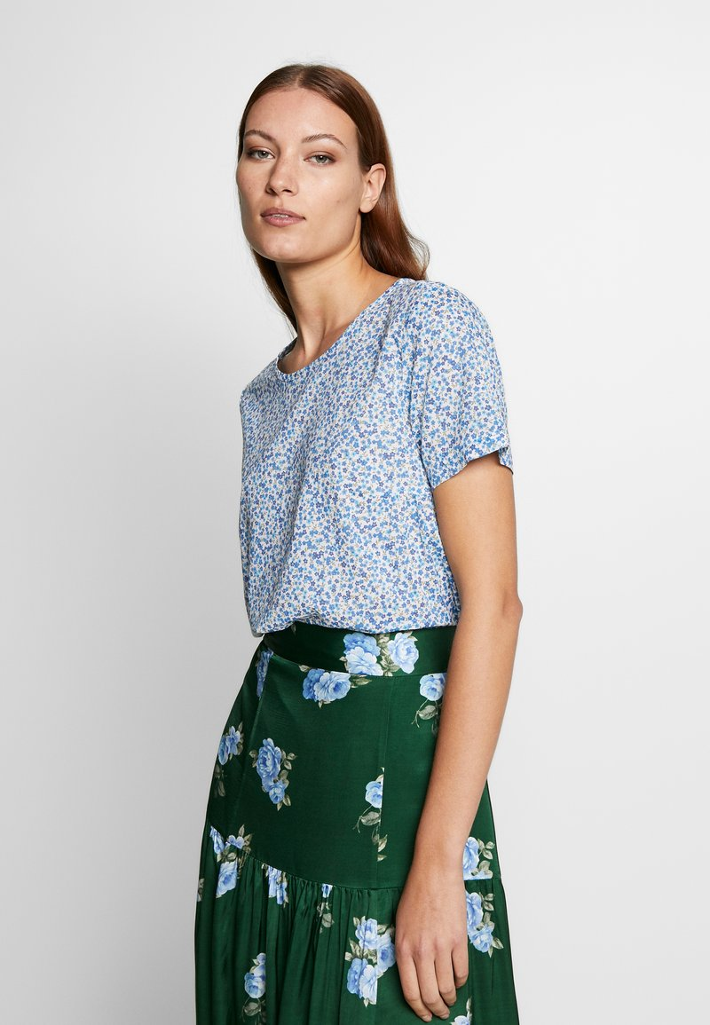 Benetton - BLOUSE - Pusero - blue