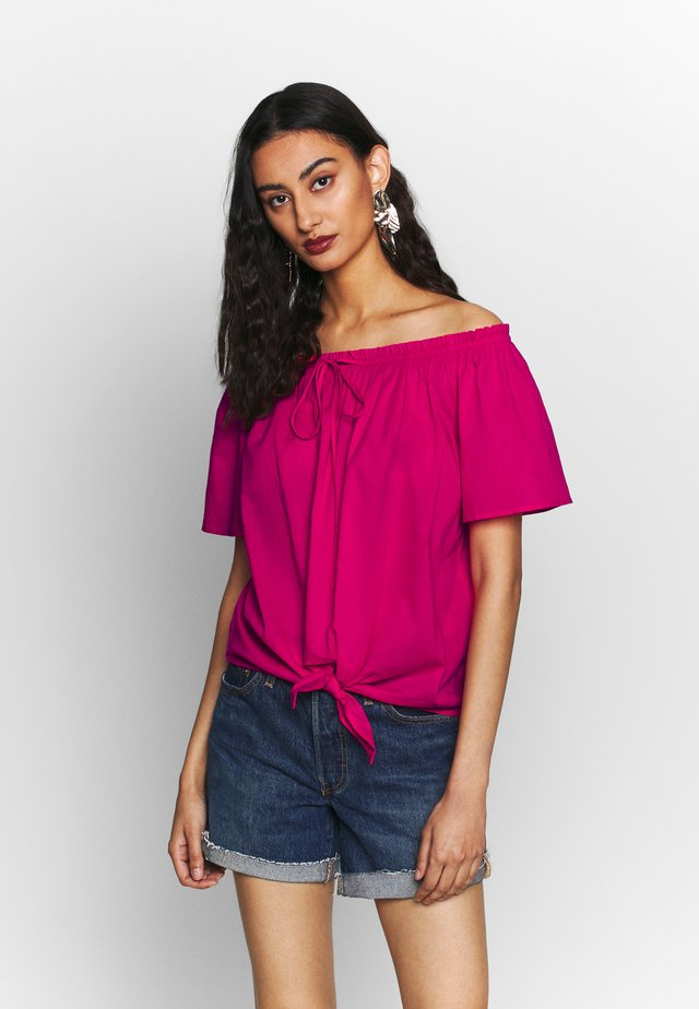 BLOUSE - Camicetta - pink