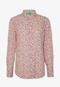 Benetton - Button-down blouse - multi - 5