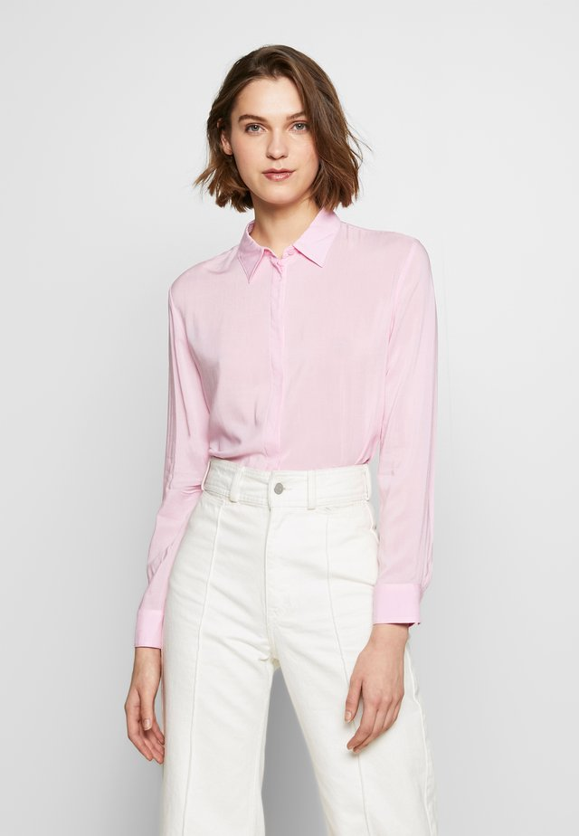 Button-down blouse - lilac