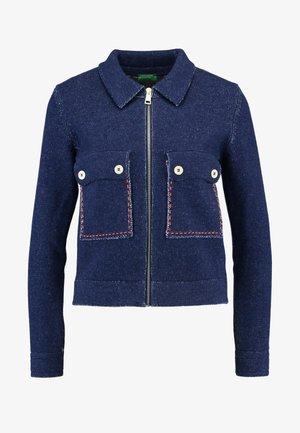 LOOK JACKET - Cardigan - blue