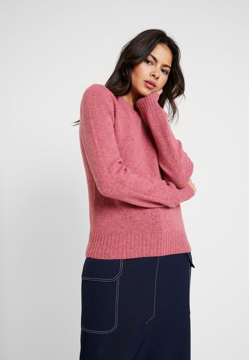 Benetton - SHETLAND CREW NECK - Pullover - pink
