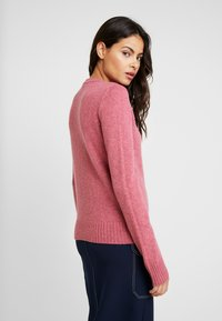 Benetton - SHETLAND CREW NECK - Pullover - pink - 2