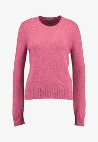 Benetton - SHETLAND CREW NECK - Pullover - pink - 3