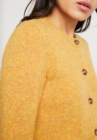 Benetton - SHETLAND CREW NECK - Kardigan - mustard yellow - 5