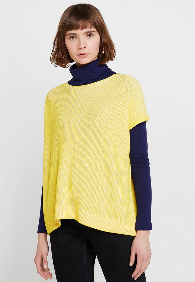 OMBRE RELAXED FIT - Trui - yellow