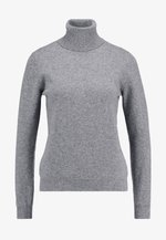 TURTLE NECK - Svetr - mid grey