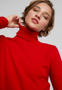 Benetton - TURTLE NECK - Trui - dark red - 3