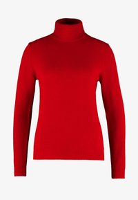 Benetton - TURTLE NECK - Trui - dark red - 5