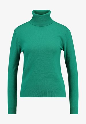 TURTLE NECK - Jersey de punto - green