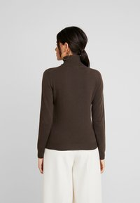 Benetton - TURTLE NECK - Sweter - brown - 2