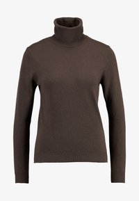 Benetton - TURTLE NECK - Sweter - brown - 3