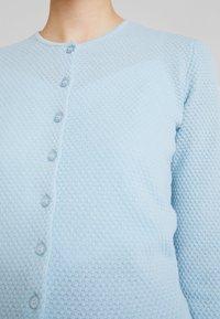 Benetton - ROUND NECK CARDIGAN - Kardigan - ice blue - 5