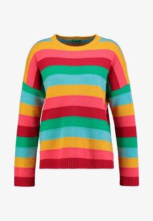 MIX CREW NECK STRIPED - Jumper - multi-coloured