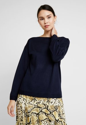 CREW NECK  - Pullover - navy