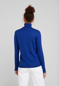Benetton - TURTLE NECK - Jumper - royal blue - 2