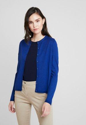 CREW NECK CARDIGAN - Vest - royal blue