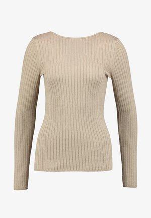 ROUND NECK - Sweter - gold