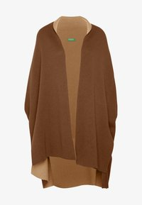 Benetton - CARDIGAN - Vest - brown - 4