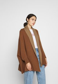 Benetton - CARDIGAN - Vest - brown - 0