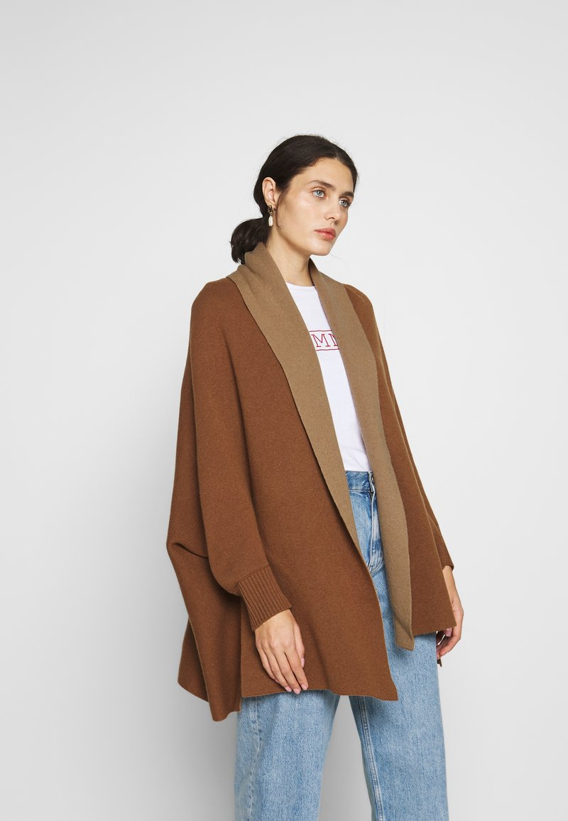 Benetton - CARDIGAN - Vest - brown