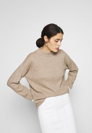TURTLE NECK - Strikkegenser - beige
