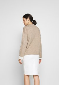 Benetton - TURTLE NECK - Jumper - beige - 2