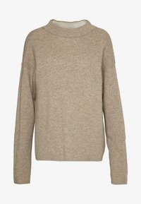 Benetton - TURTLE NECK - Jumper - beige - 4