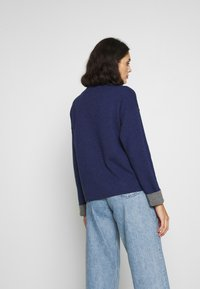 Benetton - TURTLE NECK - Trui - navy - 3